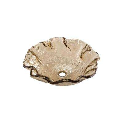 Alina Art Vessel Sink in Fawn