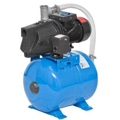 1/2 HP Shallow Well Jet Tank System With 24L Tank