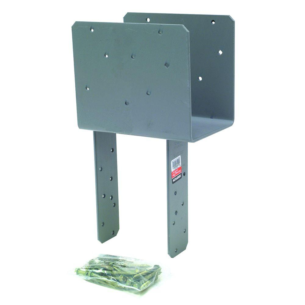 Simpson Strong-Tie ECCQ End Column Cap for 6x Beam, 6x Post, with Strong-Drive® SDS Screws