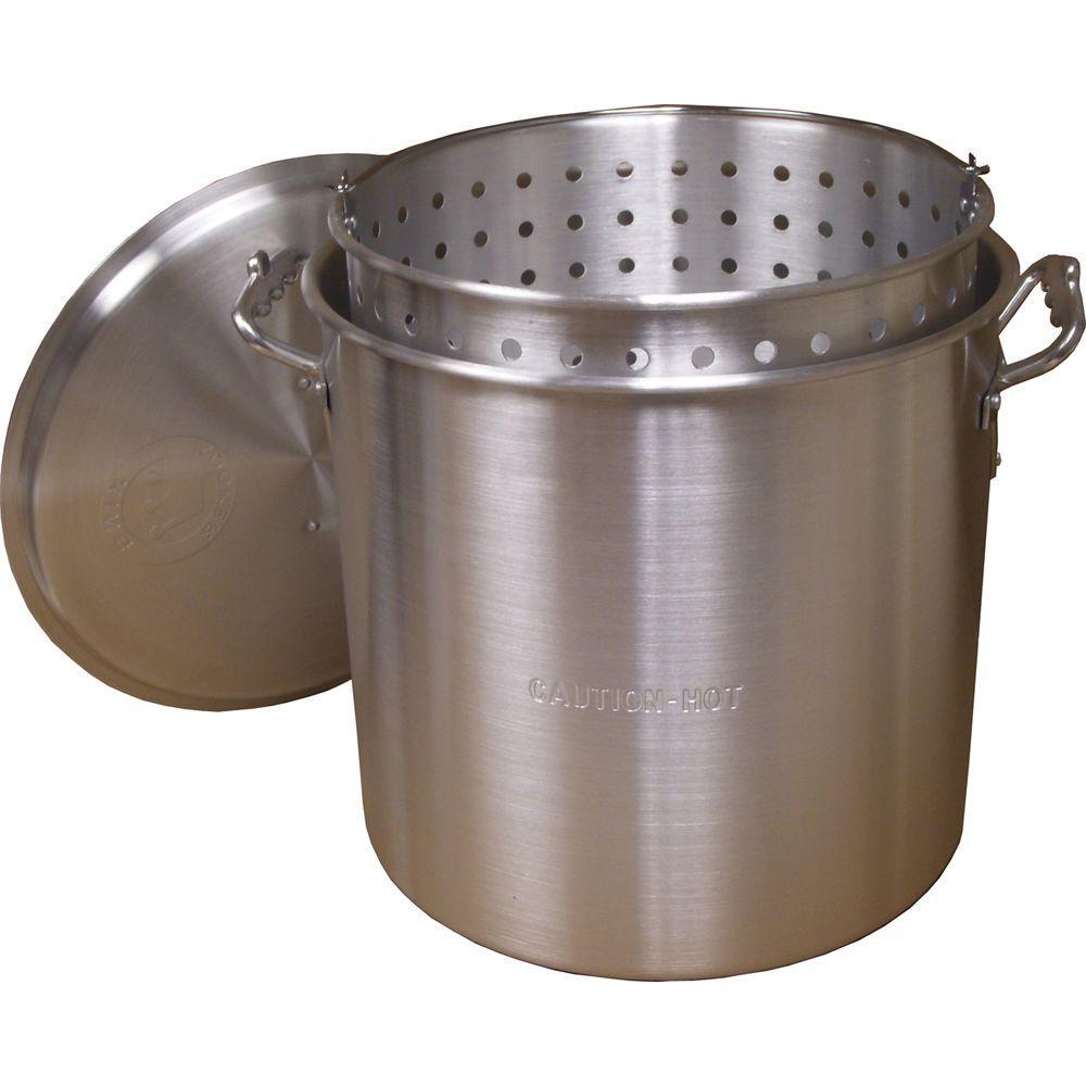 120 qt. Aluminum Boiling Pot Set