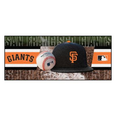 San Francisco Giants 3 ft. x 6 ft. Baseball Runner Rug