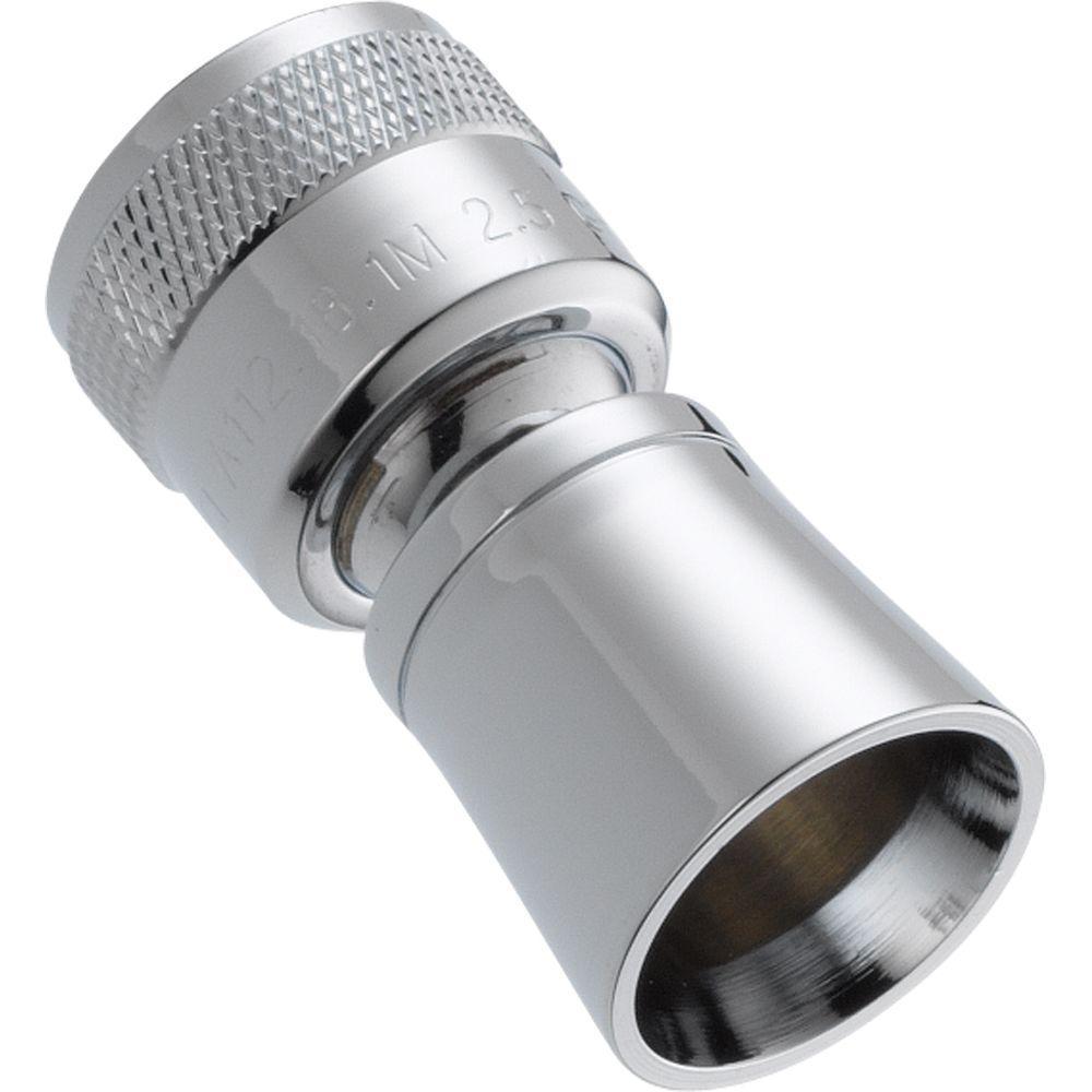 Delta 1-Spray 2.5 GPM 1 in. Shower Head in Chrome