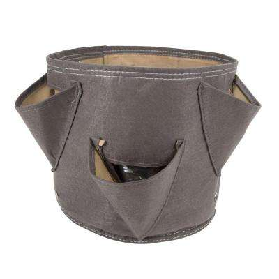 BloemBagz Big Herb 5 Gal. Peppercorn Fabric Planter