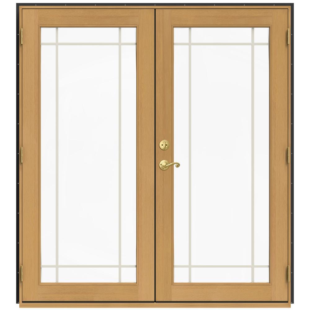 Elegant Wood   French Patio Door   Patio Doors   Exterior Doors   The Home Depot