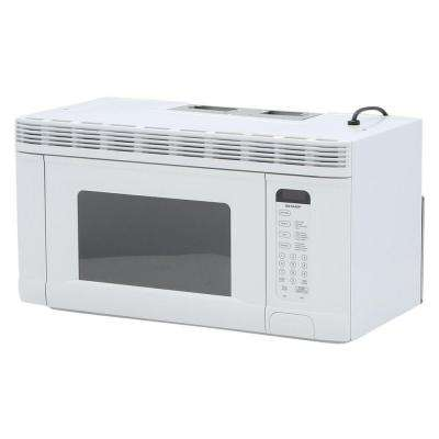 1.4 cu. ft. 950-Watt Over the Range Microwave Oven in White