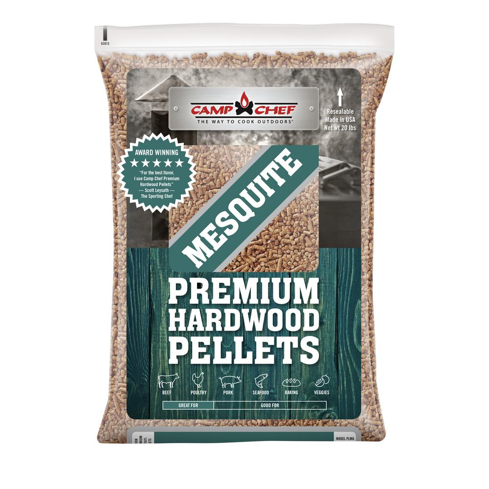 Camp Chef SW Mesquite BBQ Hardwood Pellets-PLMQ - The Home Depot