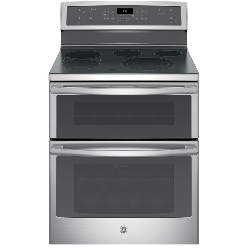 Gas And Electric Range Part - 35: Double Oven Electric Range With Self