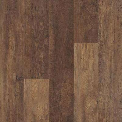 Take Home Sample Outlast+ Lawrence Chestnut Laminate Flooring - 5 in. x 7 in.