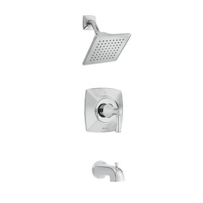 Stillmore Single-Handle 1-Spray Tub and Shower Faucet in Chrome (Valve Included)