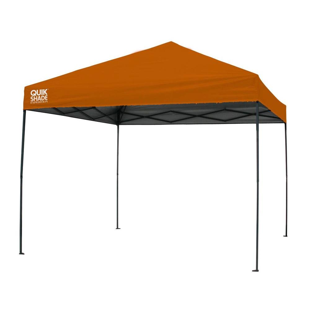 Expedition 100 Team Colors 10 ft. x 10 ft. Orange Instant