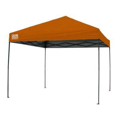 Expedition 100 Team Colors 10 ft. x 10 ft. Orange Instant Canopy