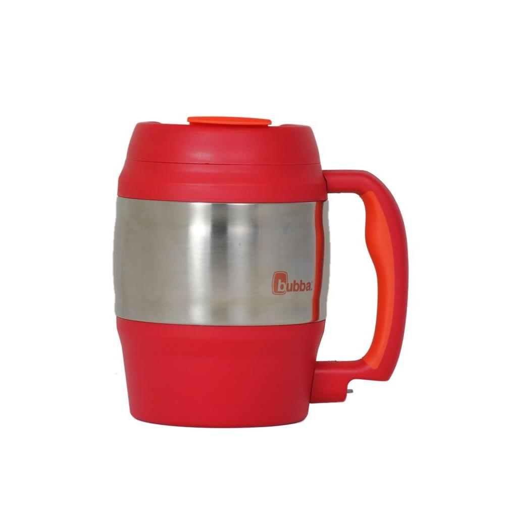 Bubba 52 oz. (1.5 L) Insulated Double Walled BPA-Free Mug with Stainless Steel Band