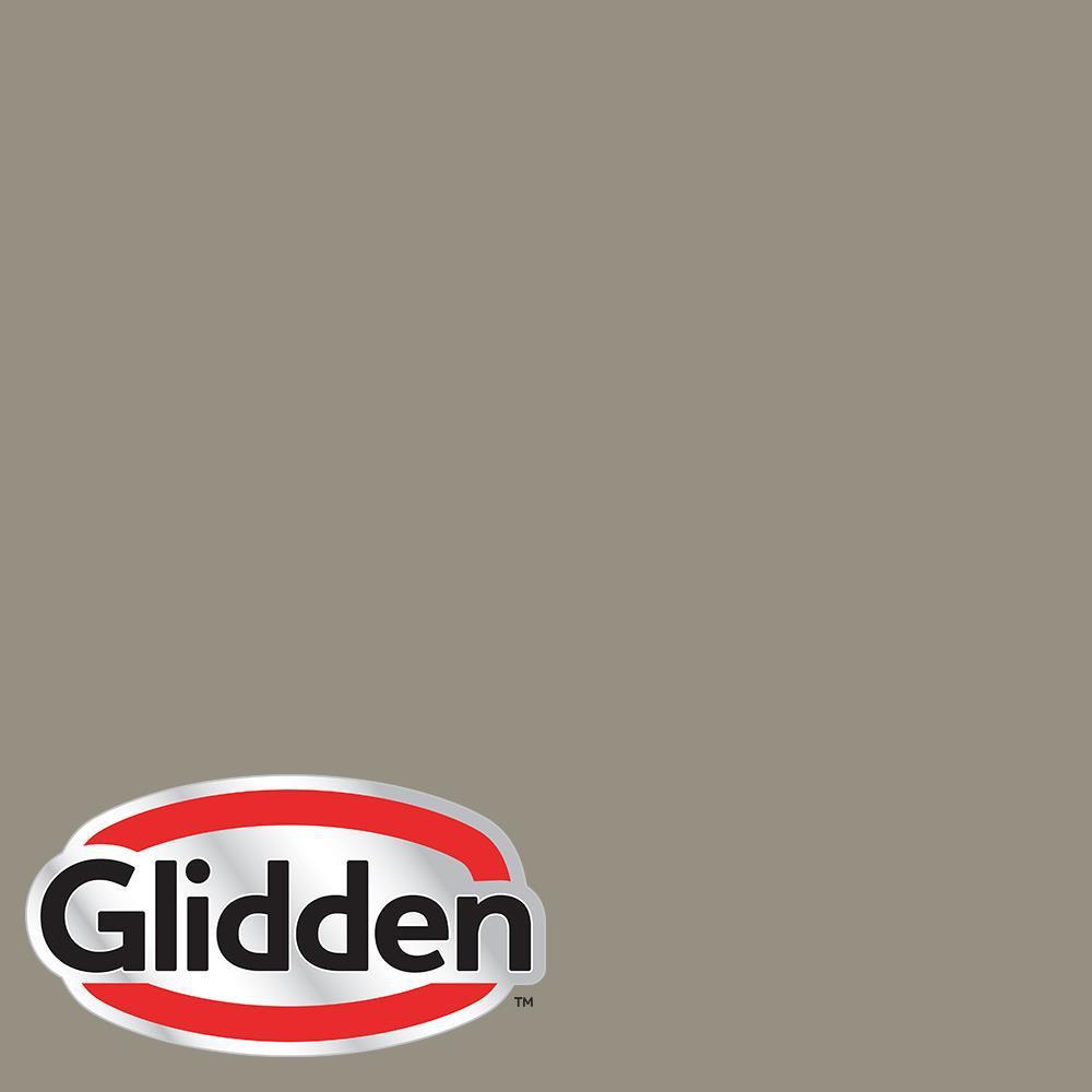 5 gal. #HDGWN51D Stone Castle Greige Flat Exterior Paint