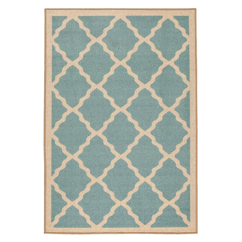Ottomanson Prestige Collection Contemporary Moroccan