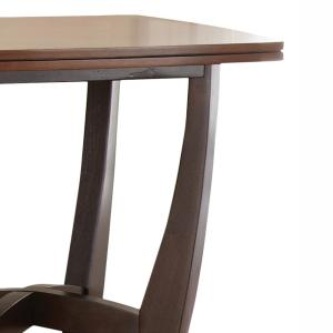 Internet #304543094. Kenzo 2 Tone Brown And Ebony Cocktail Table