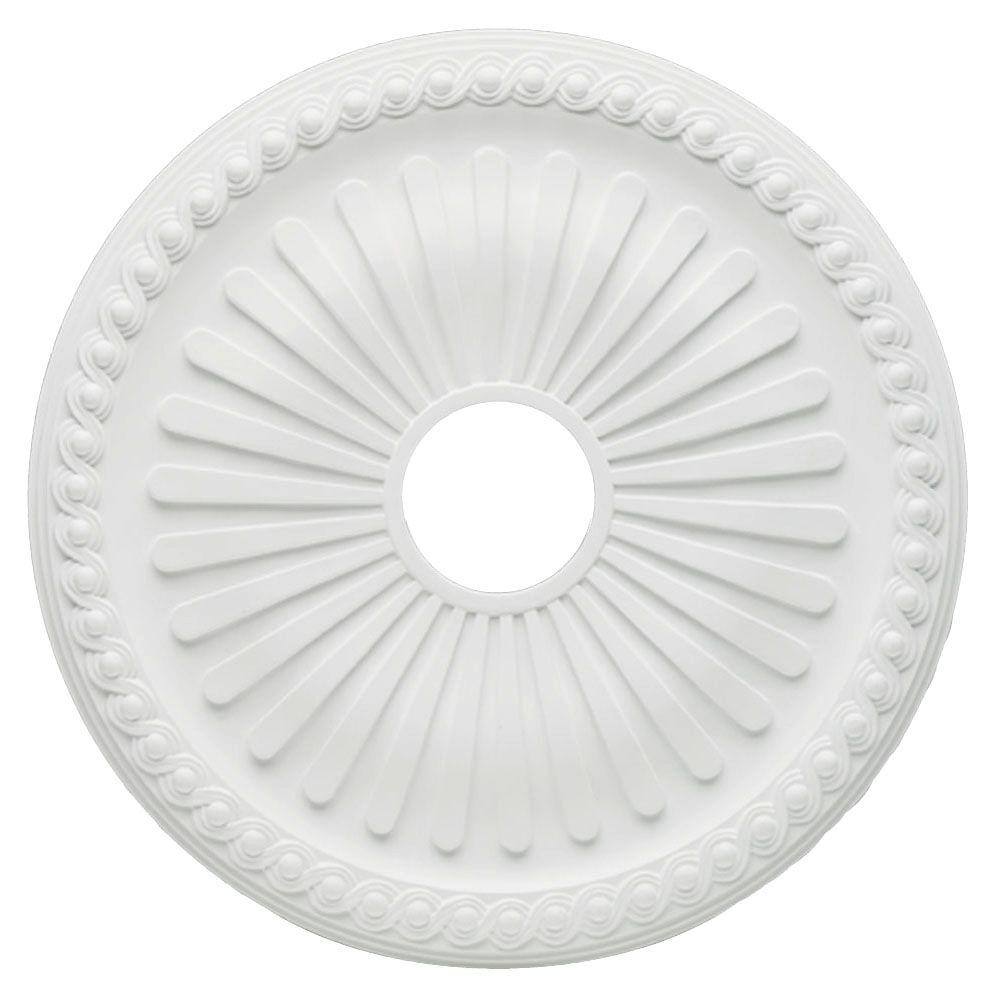 Westinghouse Soleil 20 in. White Ceiling Medallion