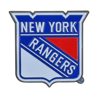 3 in. x 3.2 in. NHL New York Rangers Color Emblem