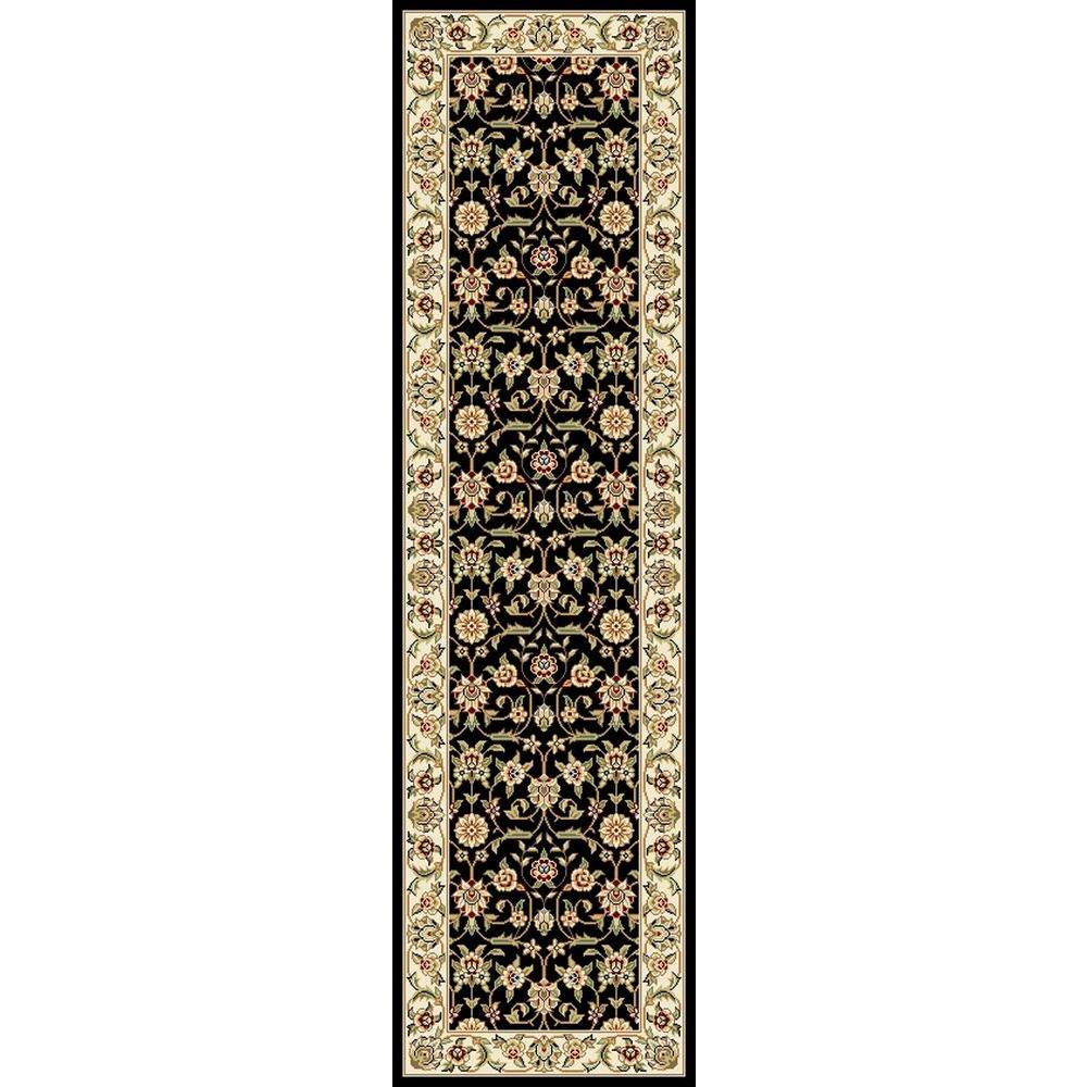 Safavieh Lyndhurst Black/Ivory 2 ft. 3 in. x 8 ft. Runner