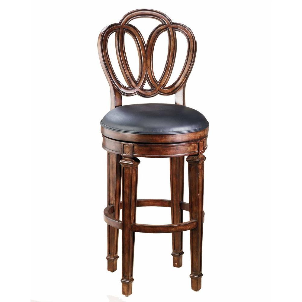 Hillsdale Furniture Dover Swivel Counter Bar Stool-DISCONTINUED