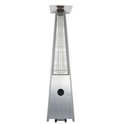 34,000 BTU Stainless Steel Pyramid Propane Gas Patio Heater