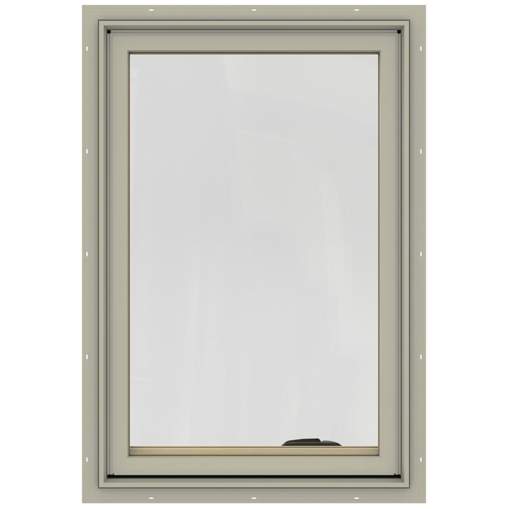 24.75 in. x 36.75 in. W-2500 Left-Hand Casement Wood Window