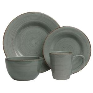 Click here to buy Tag Sonoma 16-Piece Dinnerware Set in Slate Blue by Tag.