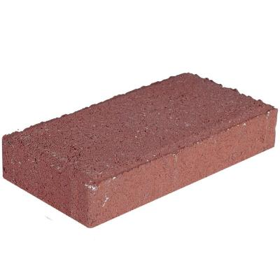Holland 7.75 in. x 4 in. x 1.75 in. River Red Concrete Paver