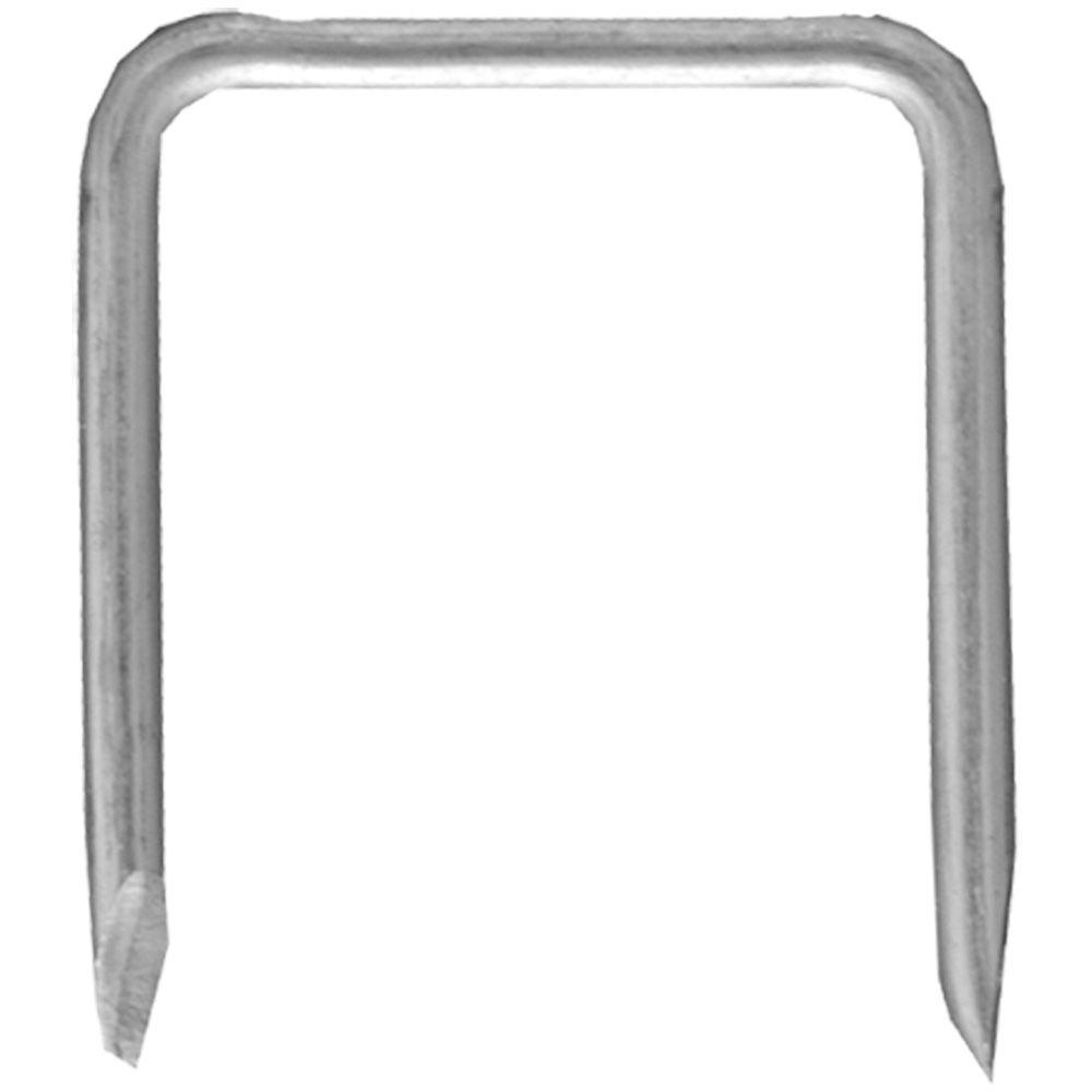 Briscon 1-1/16 in. Zinc Plated Metal Staple - Silver (25-Pack)