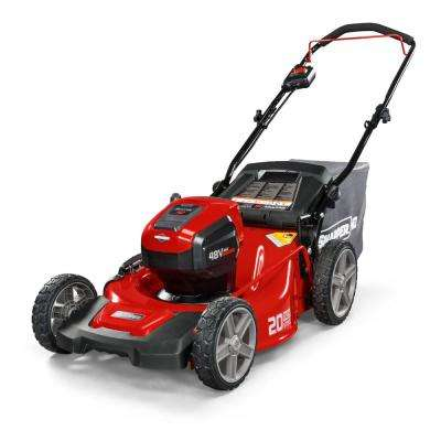 HD 20 in. 48-Volt Max Lithium-Ion Cordless Battery Walk Behind Push Mower Battery/Charger Not Included