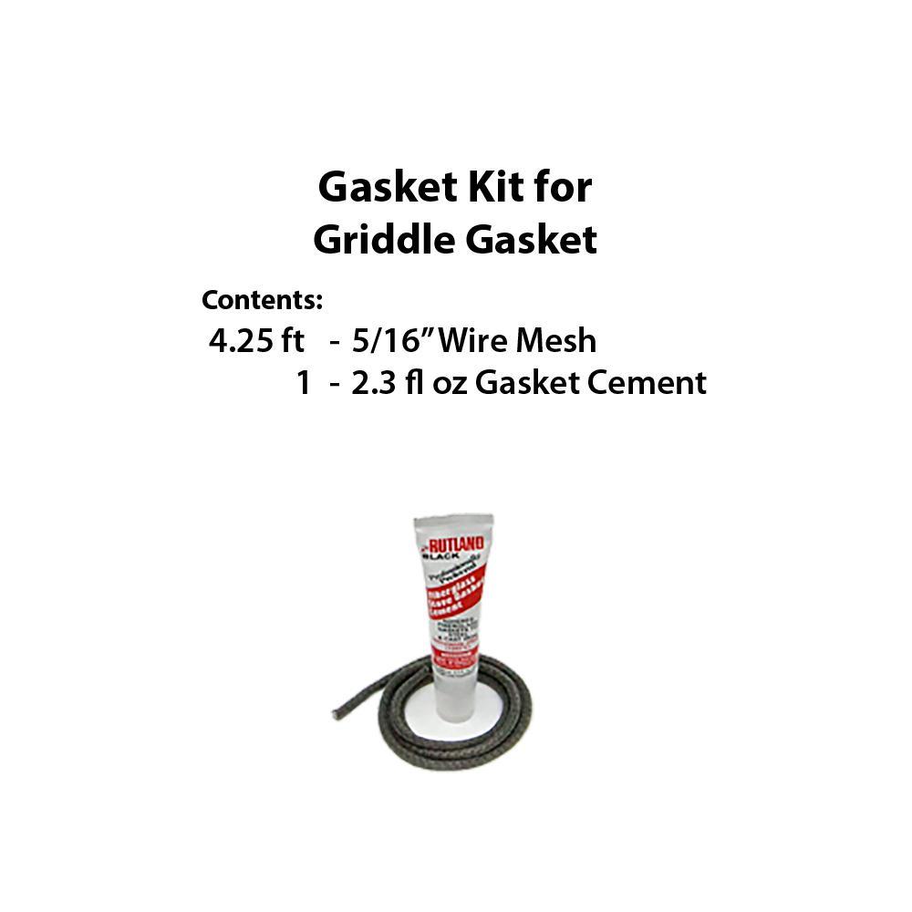 Rutland VT Casting Gasket Kit for Griddle Gasket by Rutland