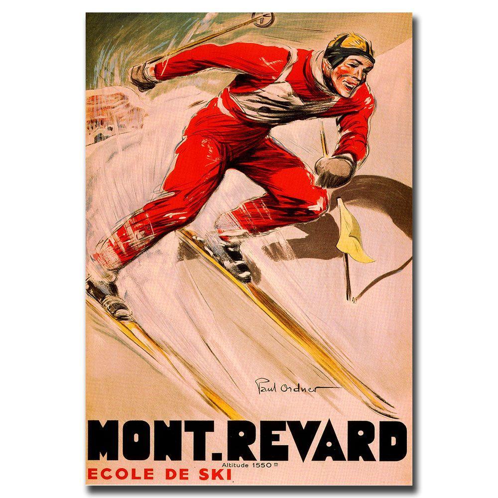 35 in. x 47 in. Mont Revard Canvas Art
