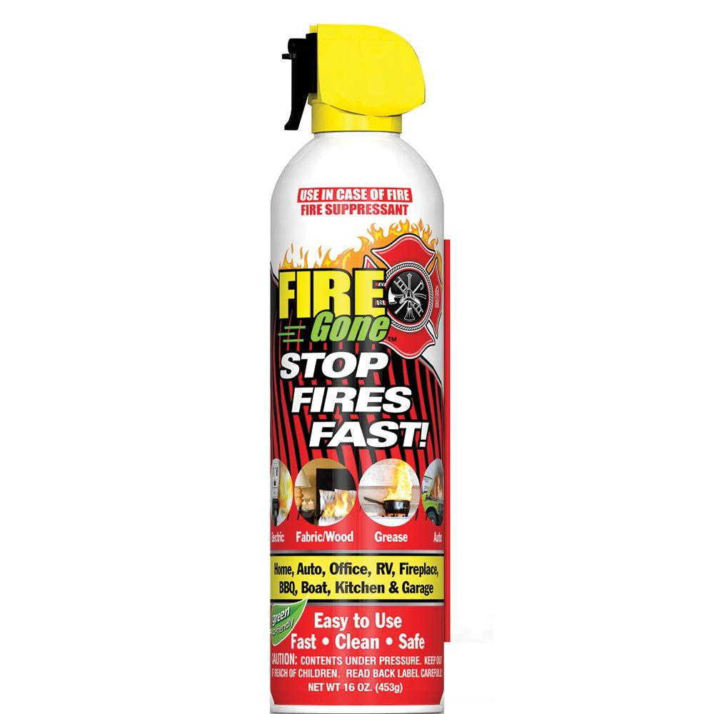 Fire Gone 16 oz. A:B:C Multiple Use Fire Suppressant