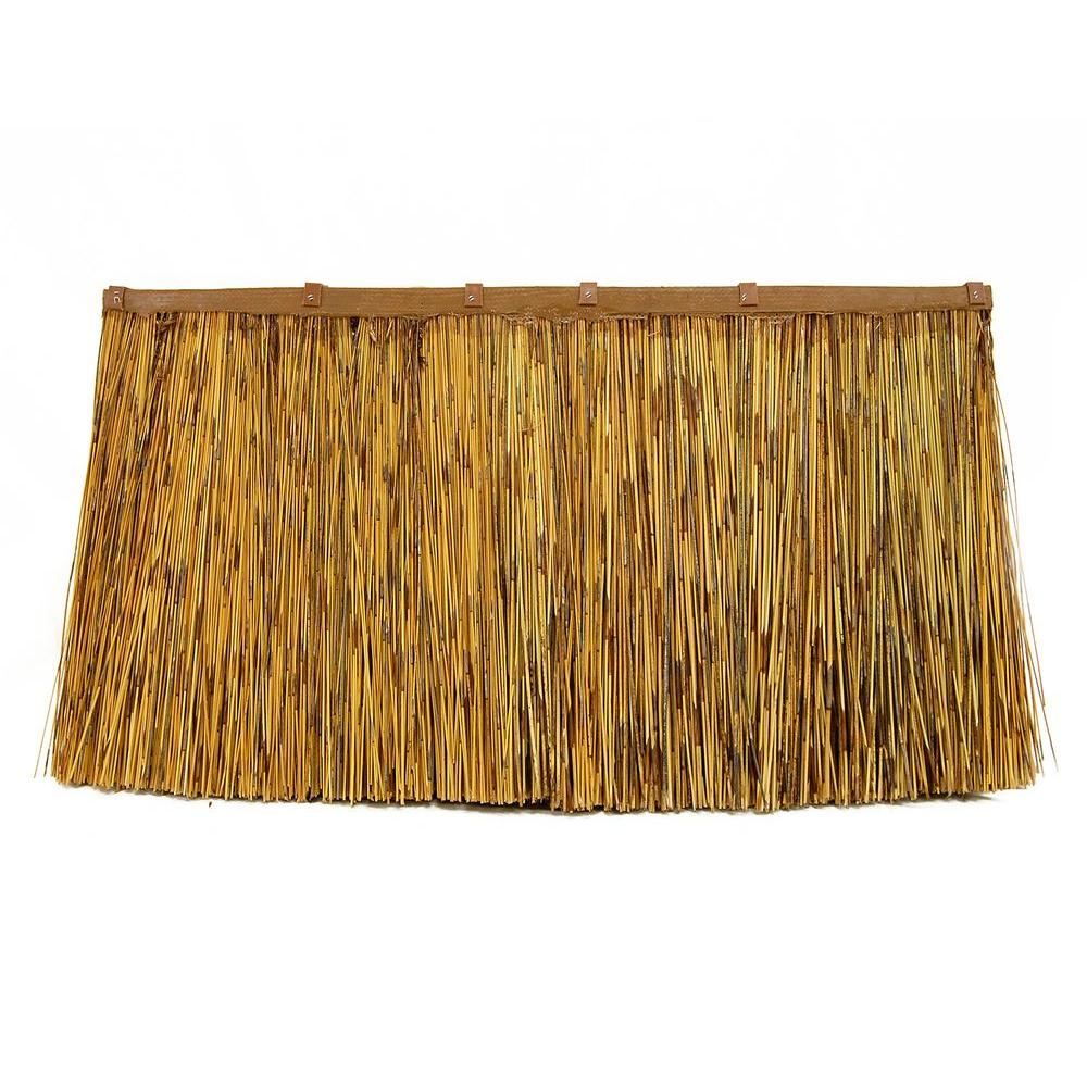 Backyard X-Scapes 17 in. H x 30 in. L Africa Thatch Cape Reed Panel-DISCONTINUED