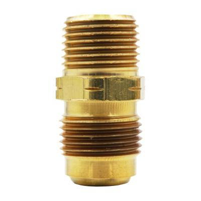 5/8 in. Flare x 1/2 in. MIP Brass Adapter Fitting