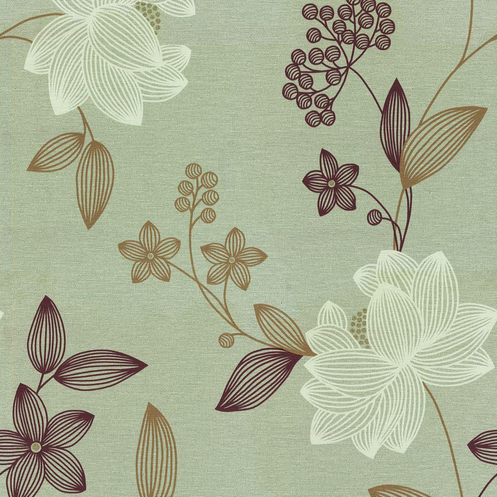 The Wallpaper Company 8 in. x 10 in. Limani Floral Wallpaper Sample