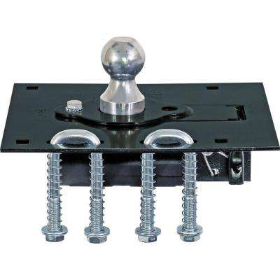 Gooseneck Retractable Ball Hitch