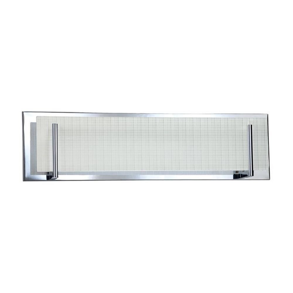 ACELEIGH 4-Light Chrome Bathroom Vanity Light