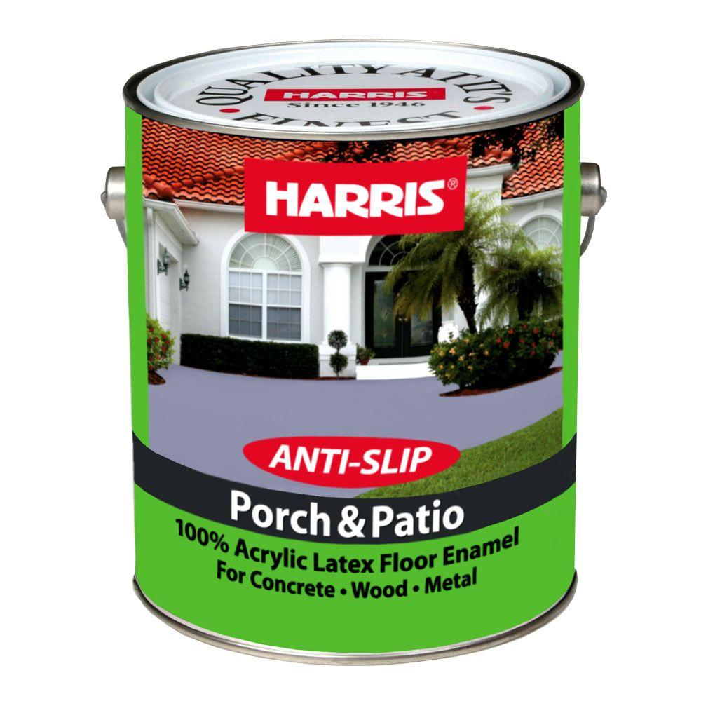 Harris Porch Patio Gal Tile Green Anti Slip The Home Depot - Anti slip coating for ceramic floor tiles