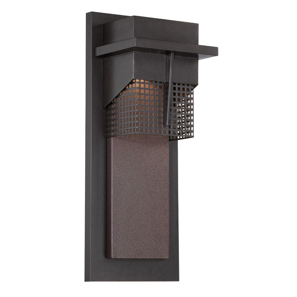 Beacon Burnished Bronze Outdoor LED Wall Lantern