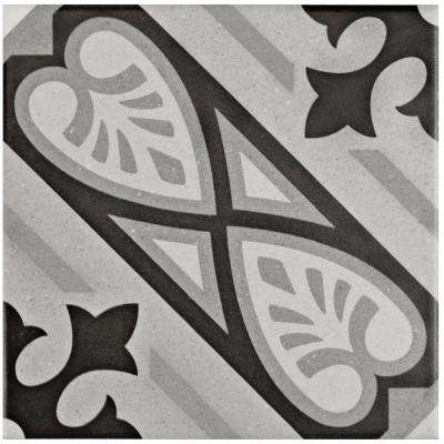 Brezo Mistral Encaustic 5-7/8 in. x 5-7/8 in. Porcelain Floor and Wall Tile (5.73 sq. ft. / case)