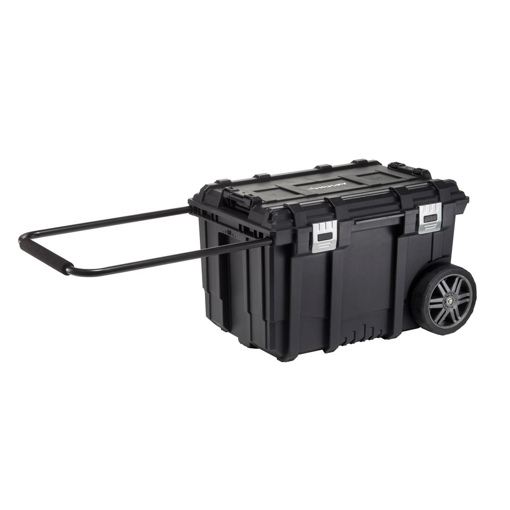 26 in. Connect Mobile Tool Box Black