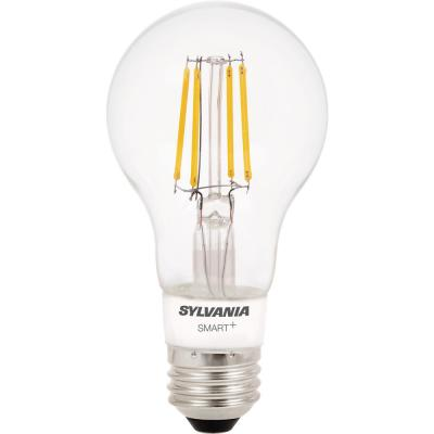 + Bluetooth 40W Equivalent Soft White Dimmable Filament A19  LED Smart Light Bulb