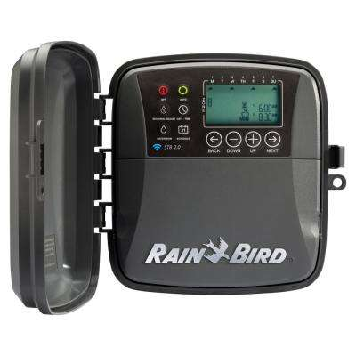 8-Zone Outdoor Smart Irrigation Wi-Fi Timer Version 2 0