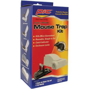 PIC Housing Mouse Trap Kit (3-Packs) by PIC