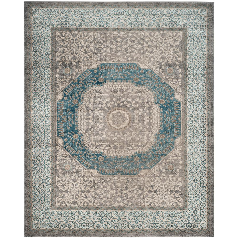 Safavieh Sofia Light Gray/Blue 9 ft. x 12 ft. Area Rug