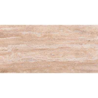 Pietra Trevi Sand 16 in. x 32 in. Polished Porcelain Floor and Wall Tile (10 cases / 106.7 sq. ft. / pallet)
