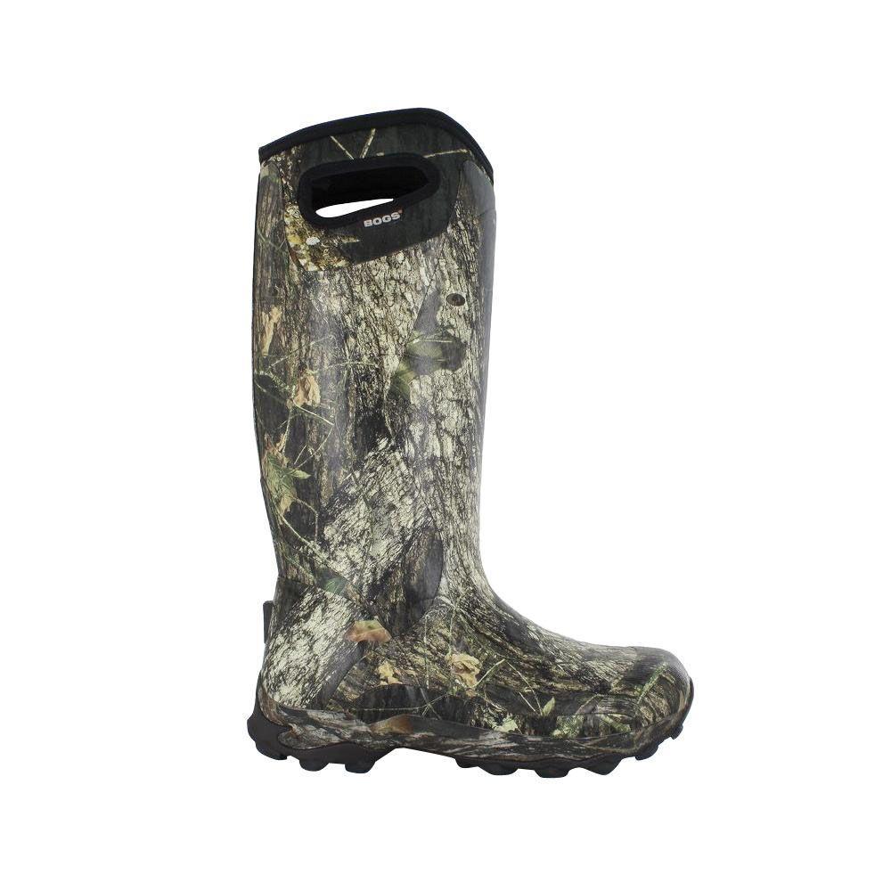 BOGS Bowman Camo Men's 16 in. Size 4 Mossy Oak Waterproof Rubber Hunting Boot
