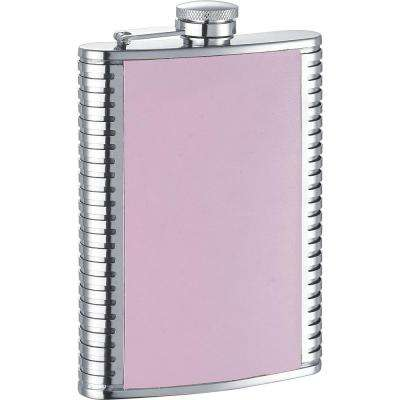 Supermodel X Pink Leather Liquor Flask