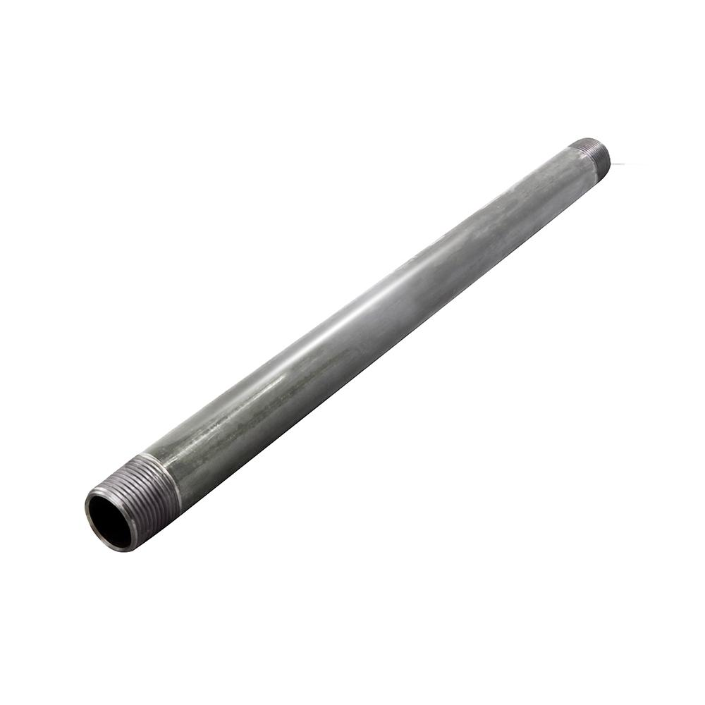 The Plumber's Choice 1 in. x 48 in. Galvanized Steel Pipe