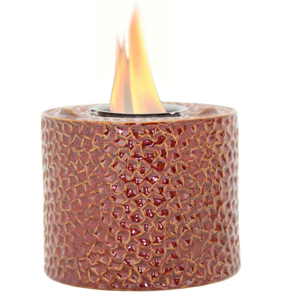 Pacific Decor Roma Red Fire Pot-DISCONTINUED